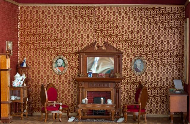 Sinterklaas ripernet - Kamer schilderij ...